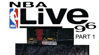 NBA Live 96 (SNES- with Michael Jordan) - annotated commentary (Part 1 of 2)