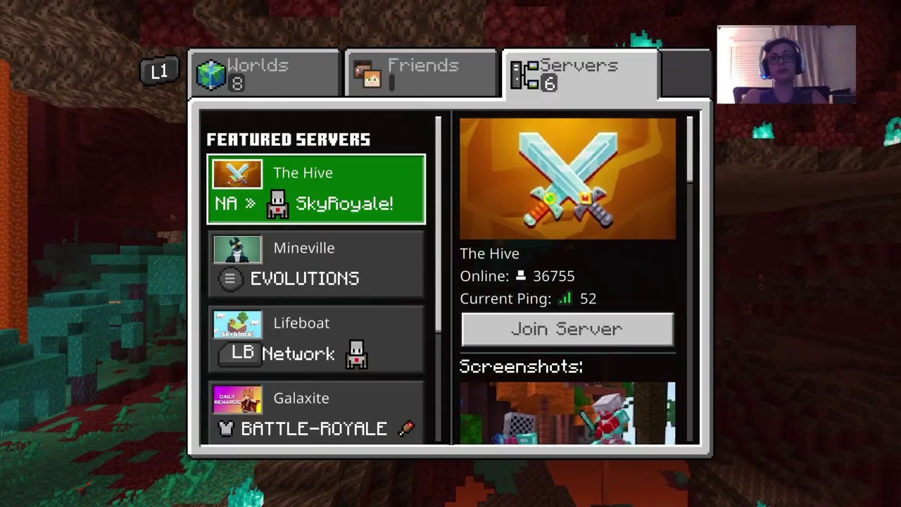 Minecraft PS8 Survival Servers - YouTube
