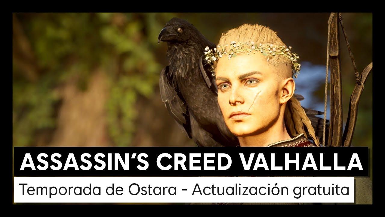 Assassin's Creed Valhalla: Temporada de Ostara Actualización gratuita