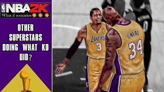 NBA2K scenarios: What if other NBA superstars switched teams like Kevin Durant?