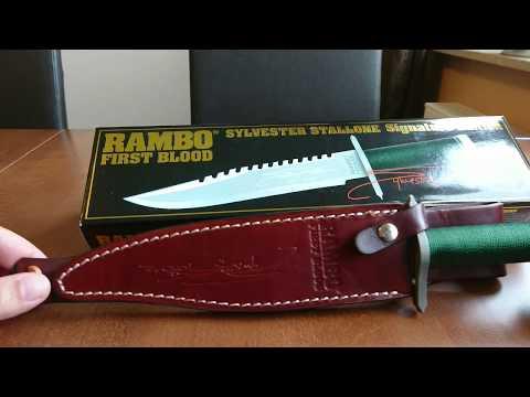 John Rambo Rambo 3 Jagdmesser First Blood Part 3 Signature Edition