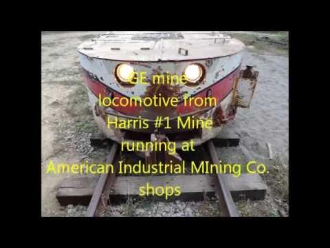 GE Trolley Mine Locomotive Harris #1 Mine