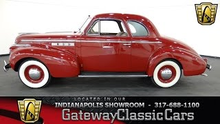 1940 Buick Coupe #419-ndy Gateway Classic Cars - Indianapolis