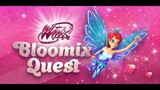 Winx Club   Bloomix Quest: Blooms Abenteuer Staffel 4 Gameplay Part 2: Alfeas Garten Level 2