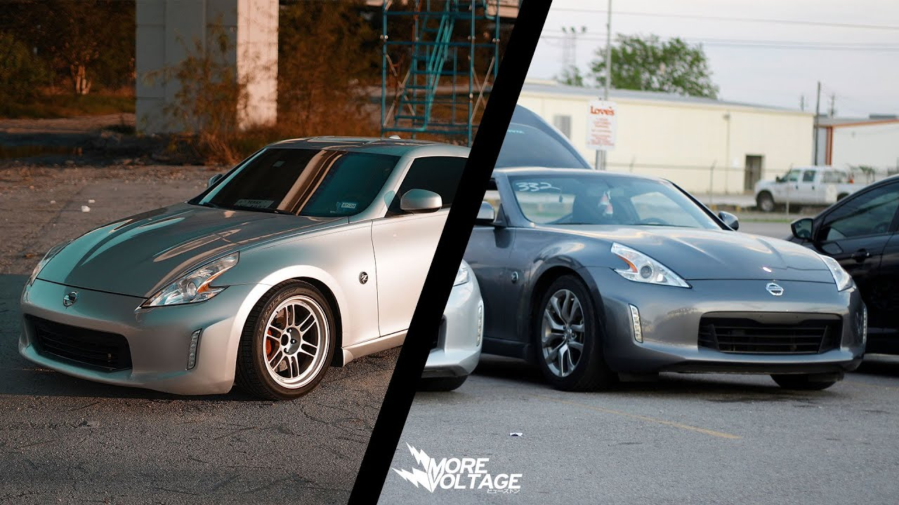 Bolt-On Nissan 370z vs Weight Reduction Nissan 370z [Old Runs, More ...