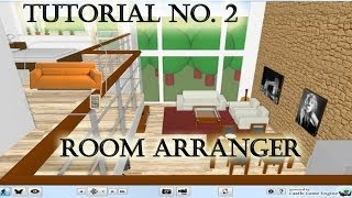 Tutorial No. 2 Room Arranger 2da Planta