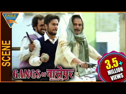 Gangs of Wasseypur -1 Hindi Movie || Manoj Bajpayee Bomb Blast Scene || Eagle Hindi Movies