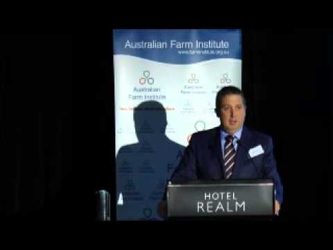 Adam Rowe - Future Trade Opportunities for Australian Agriculture Conference 2015