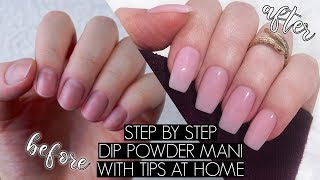 DIY DIP POWDER NAILS AT HOME | The Beauty Vault