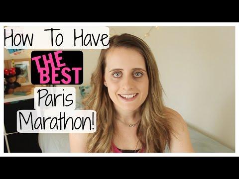 Paris Marathon Tips & Q&A!   MarathonHarry