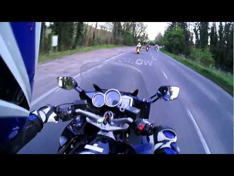 Evening Motorcycle Ride - April 2015 Kent (Yamaha FJR 1300)