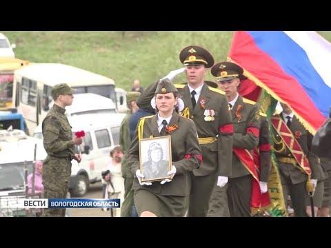Вологодские поисковики вернули останки бойца ВОВ на родину