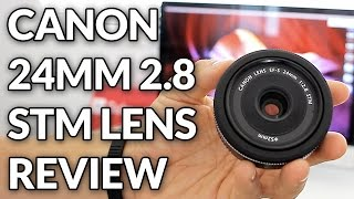 Canon 24mm Pancake 2.8 STM Lens Full Review with Photo & Video Samples // Chris Winter(Click here to see my Top 5 Prime Lenses under $150 ➜ http://amzn.to/1USvLsL More videos on this lens (Filmed on the Canon 70d & T6i/750d): Canon 24mm ..., 2014-11-29T13:00:00.000Z)
