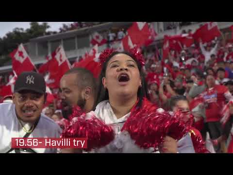 Minutes you didn't see: Tonga v England