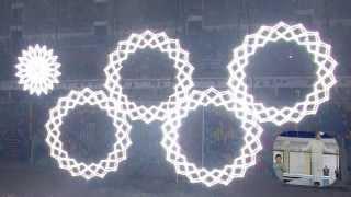 видео: Парадоксы нераскрывшихся колец Олимпиады в Сочи 2014 Snowflakes ring suns Olympics in Sochi 2014