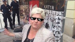 HARDA kobieta zmasakrowała Ryszarda Petru THUG LIFE