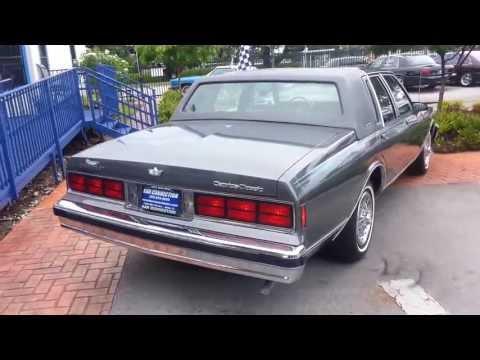 1989 Chevrolet Caprice Brougham LS w/Leather @ Karconnectioninc.com Miami, FL