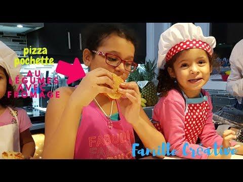 pizza-pochette-aux-légumes-avec-fromage
