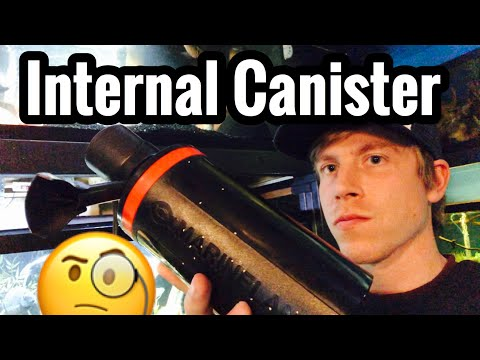 Marineland Magnum Filter Review - Internal Canister