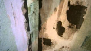 Ремонт. Трещина в угле. Треснула стена. The repair. The crack in the corner. Cracked wall. Tamir.(Ремонт спальни. Дом валится..., 2014-08-31T07:37:28.000Z)