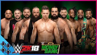 Money in the Bank: Men's Money in the Bank Ladder Match - WWE 2K18 Match Sims