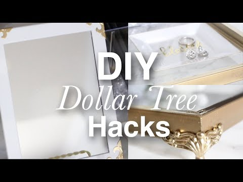 How To Hack Dollar Tree Items On A Budget | Easy Decor DIY Projects To Try | Treshaja