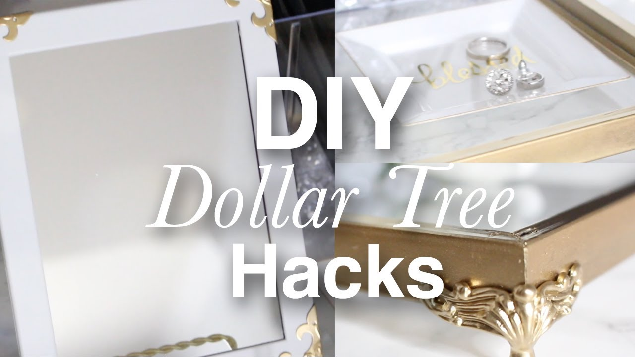 How To Hack Dollar Tree Items On A Budget | Easy Decor DIY Projects ...
