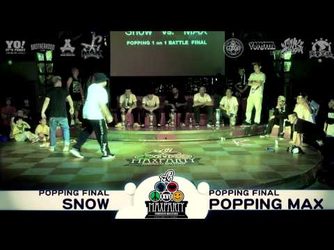 MAX PARTY XVI - POPPING final