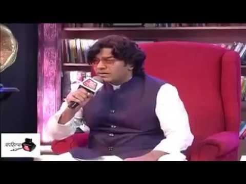 BHARAT K DUSHMANO KO ASHUTOSH RANA KI  LALKAR ON NATIONAL TV SHOW