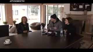 Сюжет с презентации нового клипа в программе РуНовости на RU TV