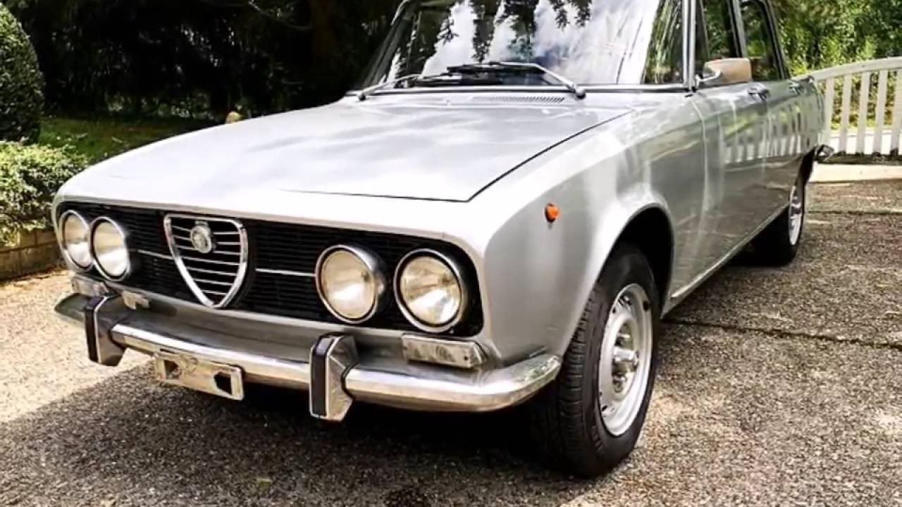 alfa romeo 2000 berlina, model year 1971 - youtube