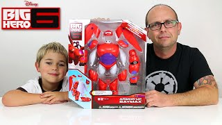 Disney Big Hero 6 - Armor Up BAYMAX Toy Figure Review