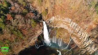 日光市【華厳の滝】ドローン空撮 絶景!「日本三名瀑」栃木県   Kegonfalls 4K Drone Footage Japan