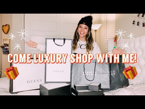 COME LUXURY SHOP WITH ME IN LA ON RODEO DRIVE!!+ LUXURY HAUL (vlogmas day 6)