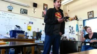 Student Roasts Teacher (Fun Video)