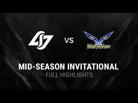 CLG vs FW All Games Highlights Semi-final MSI 2016 Mid Season Invitational 2016 CLG vs Flash Wolves