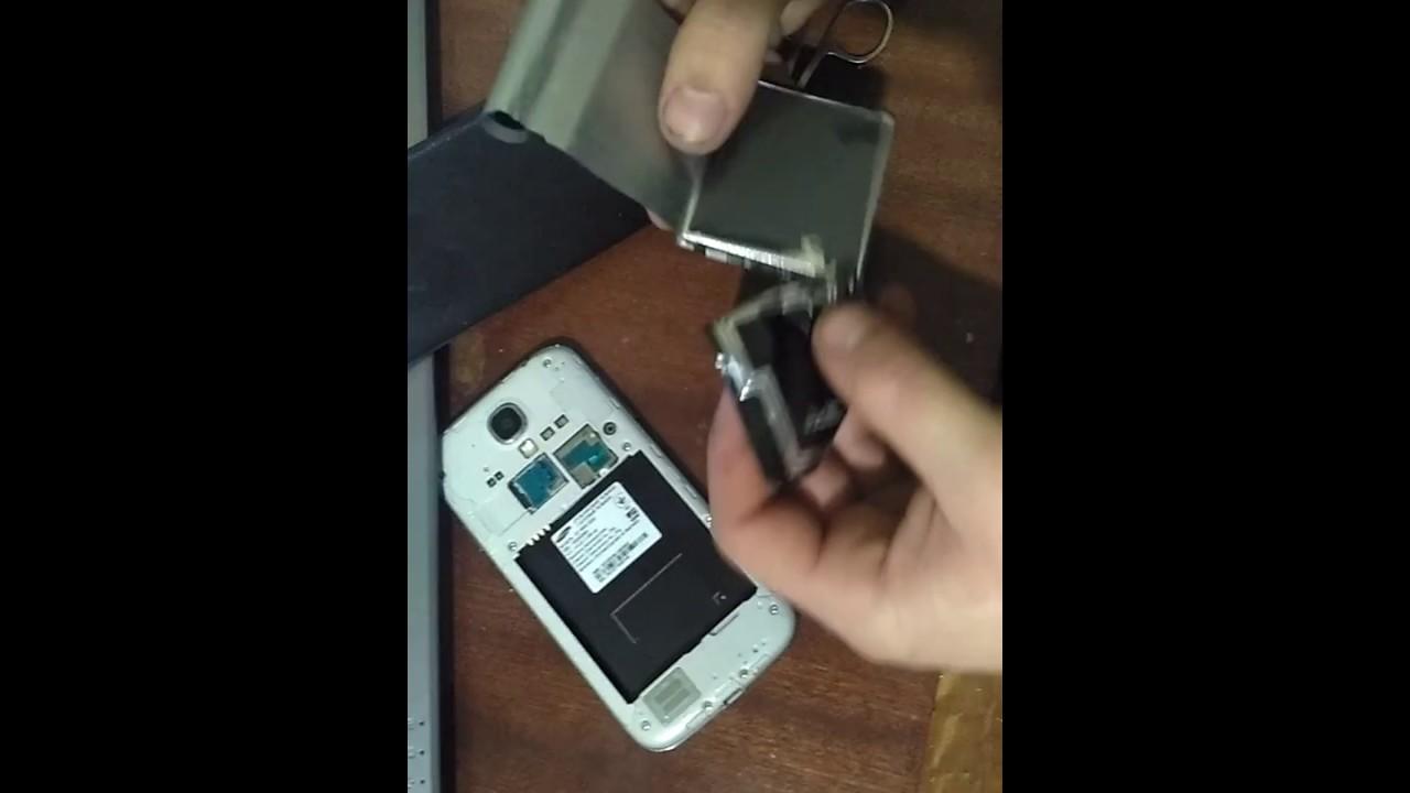 Прослушка под батареей самсунг