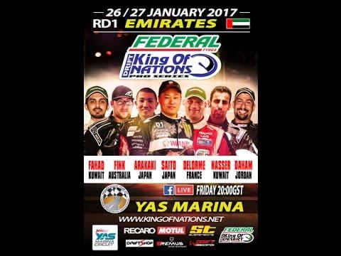 King of Nations(R1)  King of Desert(R2) Yas Marina 2017 (part2) بطوله ملك الصحراء 2 ياس مرينا