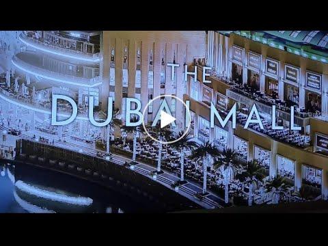 Walking around at Dubai Mall