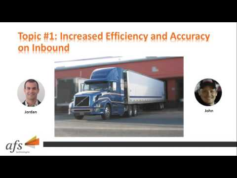 Scavuzzo's Case Study Webinar - Warehouse Improvements – Increasing Accuracy & Efficiency