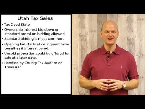 Utah Tax Sales - Tax Deeds