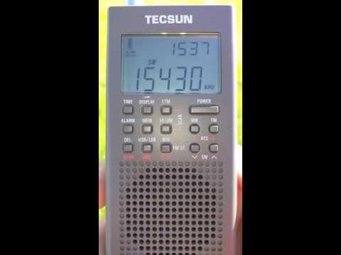Radio Free Asia - Chinese - 15430 KHZ - 15:37 UTC