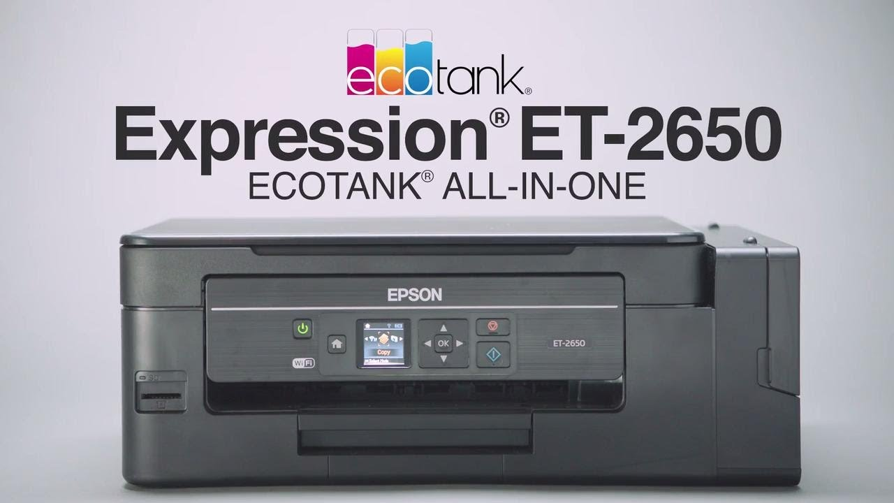Epson Expression ET-2600 and ET-2650 EcoTank Review - Nerd Techy