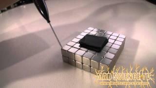 Levitation: Pyrolytic Graphite and Neodymium Magnets