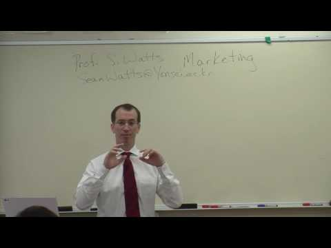 Marketing 141126   Class Mktg - Professor Sean Watts, Korea