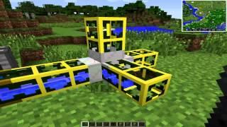 жидкостные трубы в майнкрафт 1.7.10 - Buildcraft 6.0.18