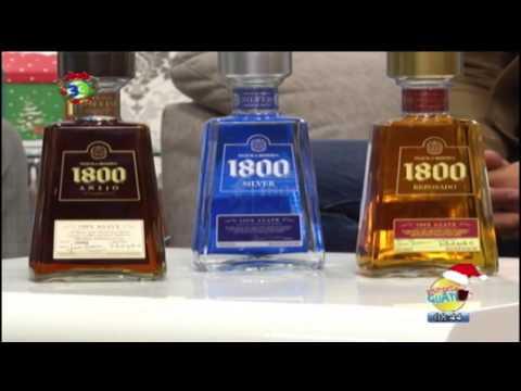 Tequila 1800 para celebrar fiestas de fin de año - Despierta Guate (Canal 33)