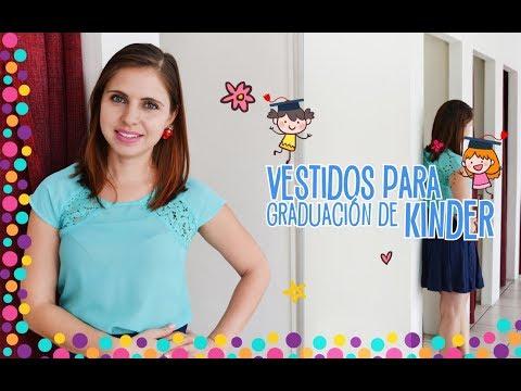 372e1cc5fa Vestidos para Graduación de Kinder - Ada Pelayo - YouTube