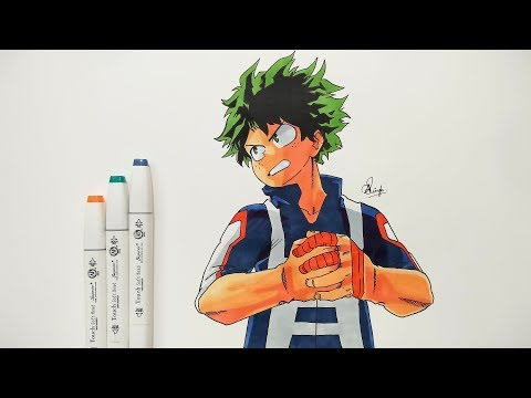 Drawing Izuku Midoriya - Boku No Hero Academia