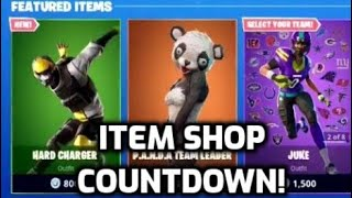 *NEW* Fortnite Hard Charger Skin! (Item Shop Countdown Live)